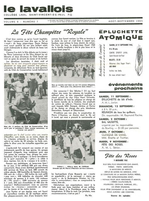 lavallois - aout 1965-1