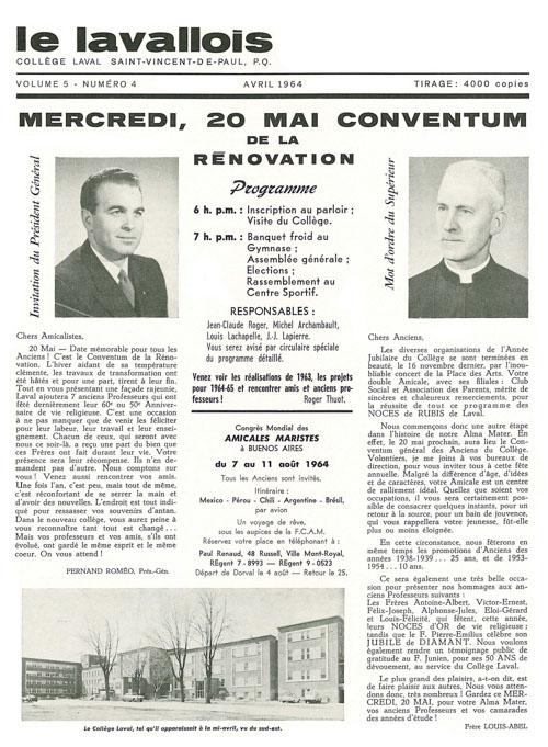 lavallois - avril 1964-1