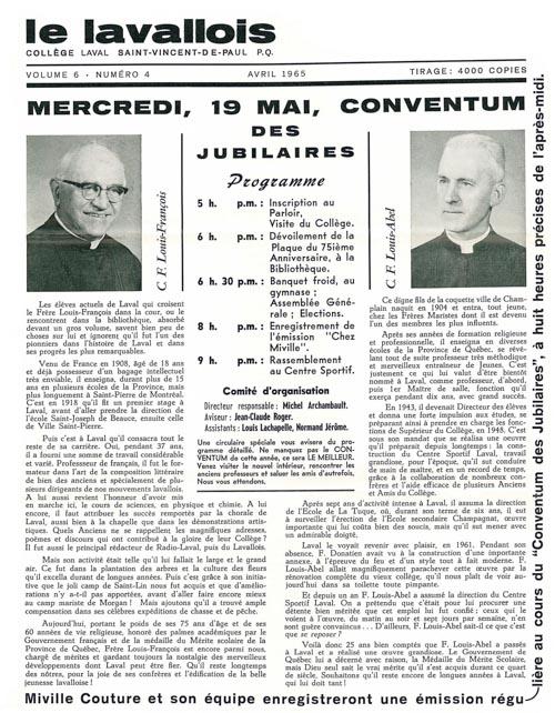 lavallois - avril 1965-1