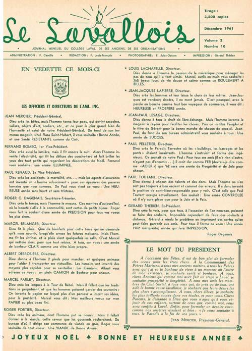 lavallois - dec. 1961-1