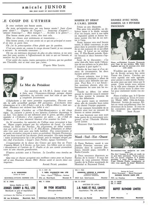 lavallois - dec. 1962-3