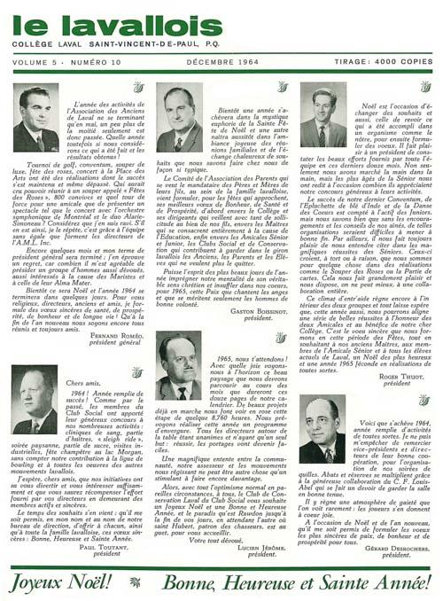 lavallois - dec. 1964-1