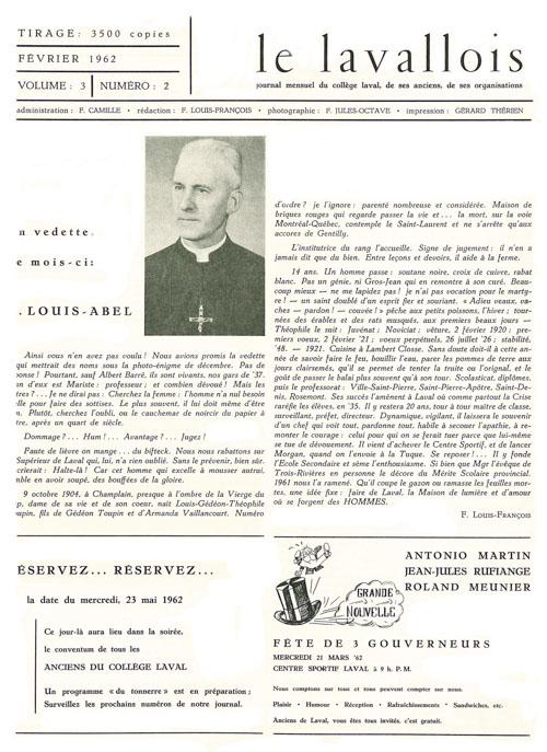 lavallois - fev. 1962-1