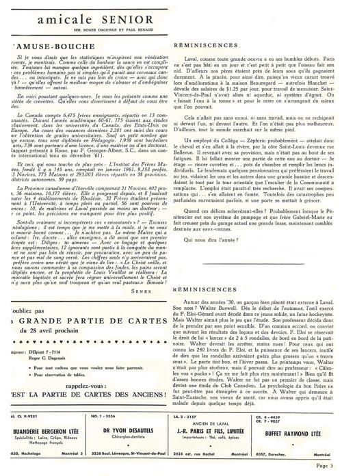 lavallois - fev. 1962-3