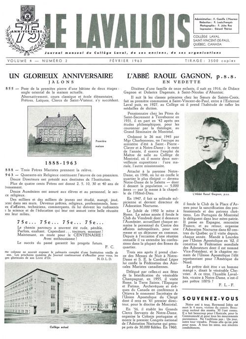 lavallois - fev 1963-1