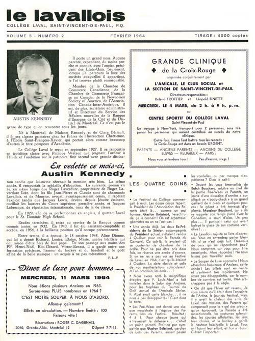 lavallois - fev. 1964-1