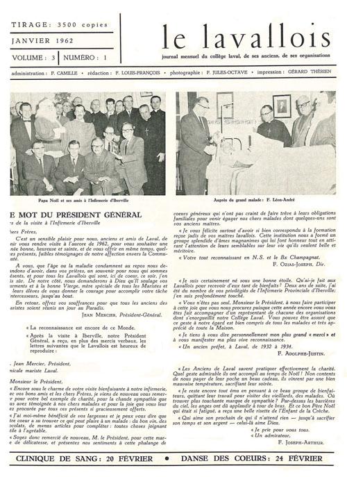 lavallois - jan. 1962-1