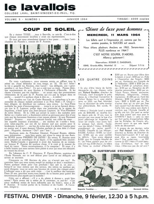 lavallois - jan. 1964-1