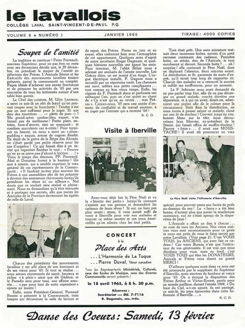 lavallois - jan. 1965-1
