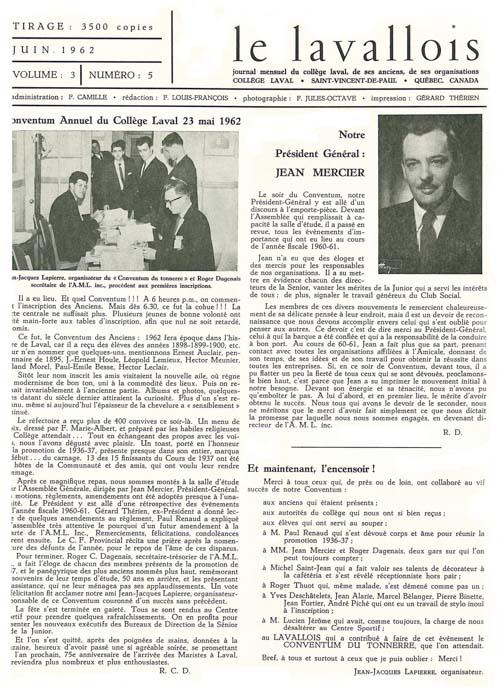 lavallois - juin 1962-1