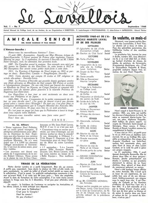 lavallois - sept. 1960-1