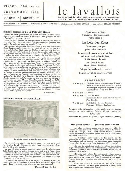 lavallois - sept. 1962-1